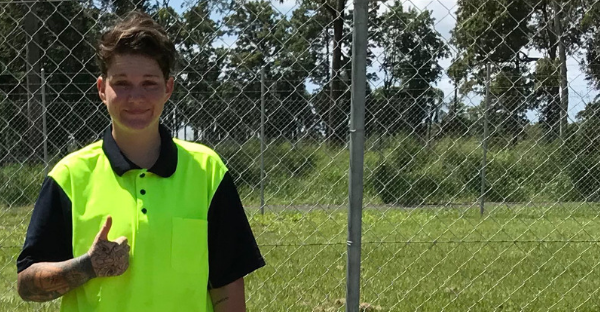 Meet Kara: Tiling Apprentice taking the construction industry by storm