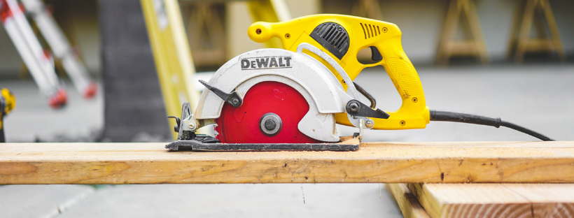 DEWALT brand tools for carpenters