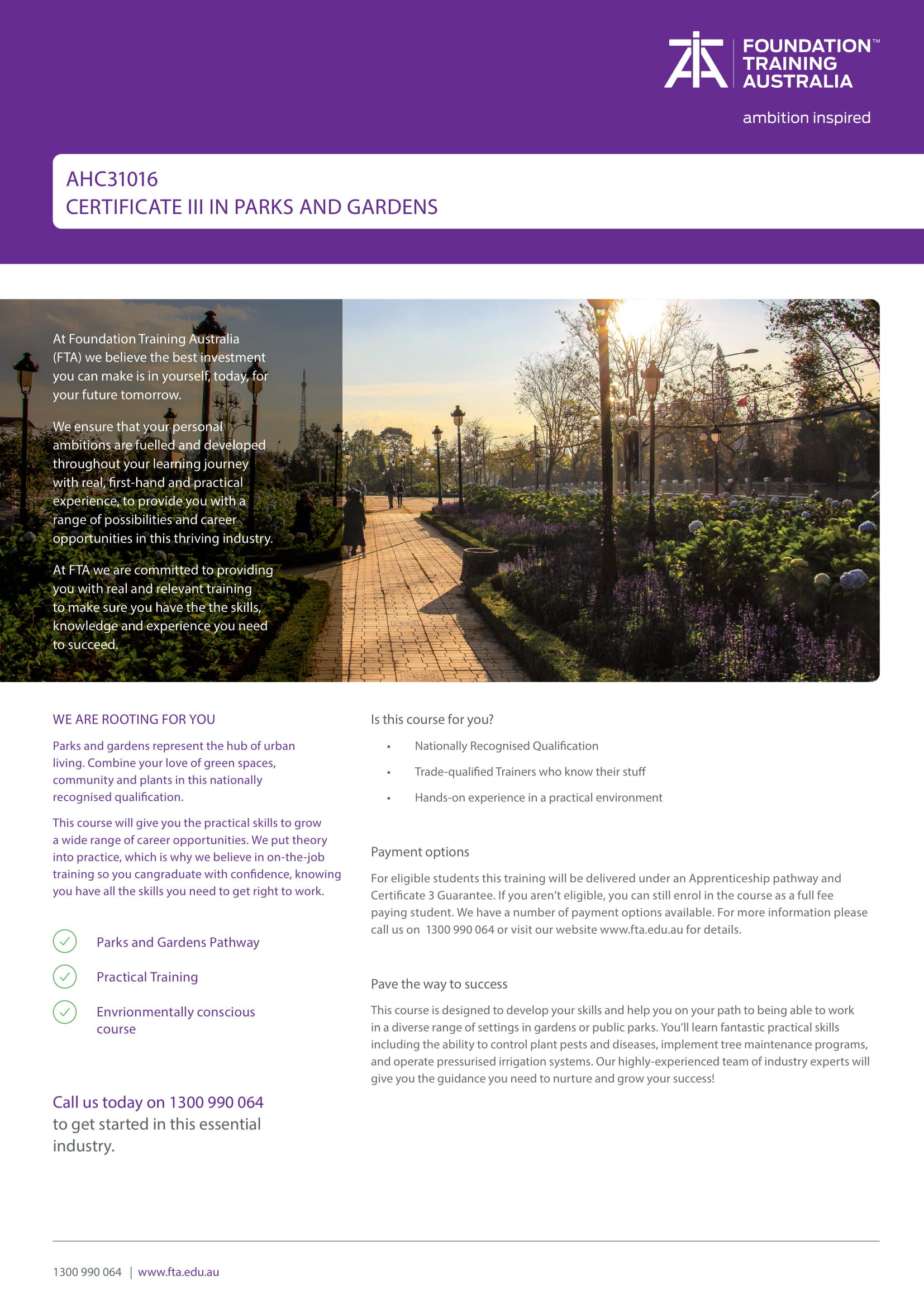 https://www.fta.edu.au/wp-content/uploads/2020/06/TP1.MK_.169-Certificate-III-in-Parks-and-Gardens-Course-Flyer-AHC31016-1.jpg